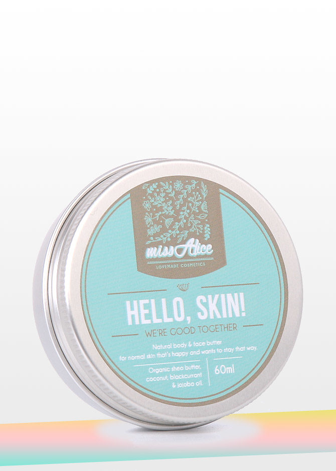 Hello, Skin! We're good together.