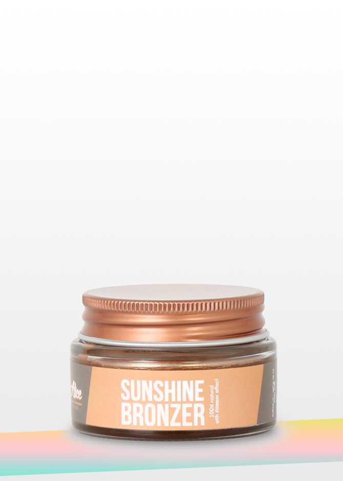 Sunshine Bronzer Miss Alice lovemade cosmetics