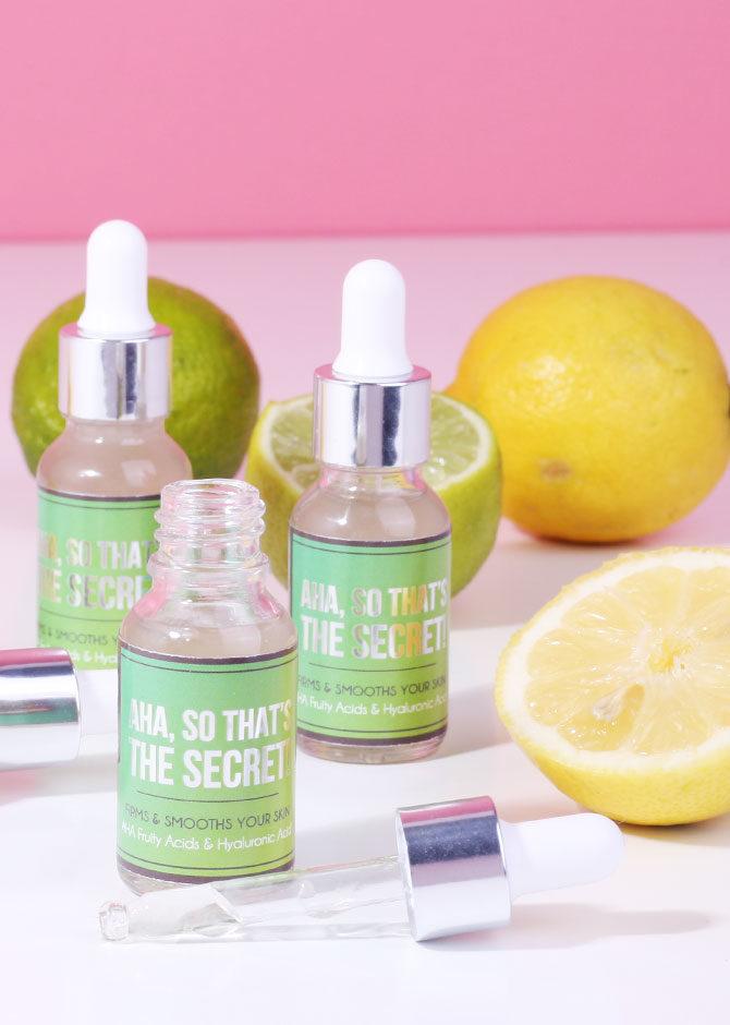 AHA fruity acids serum