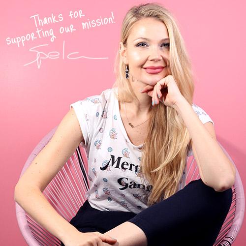 Spela Ceglar Miss Alice founder