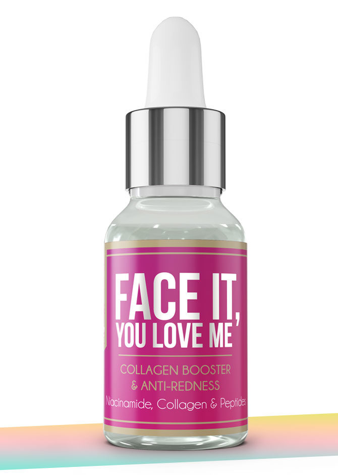 FACE IT serum with niacinamide